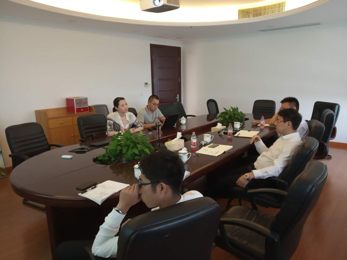 中德企业咨询机构合能环境来bwinchina官网集团考察交流