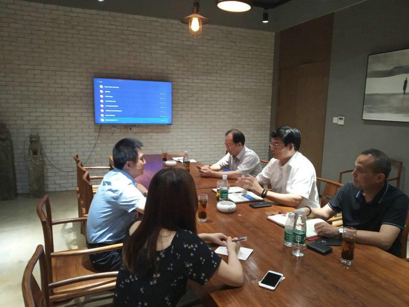 集团资管部在南京、无锡产业园参观学习