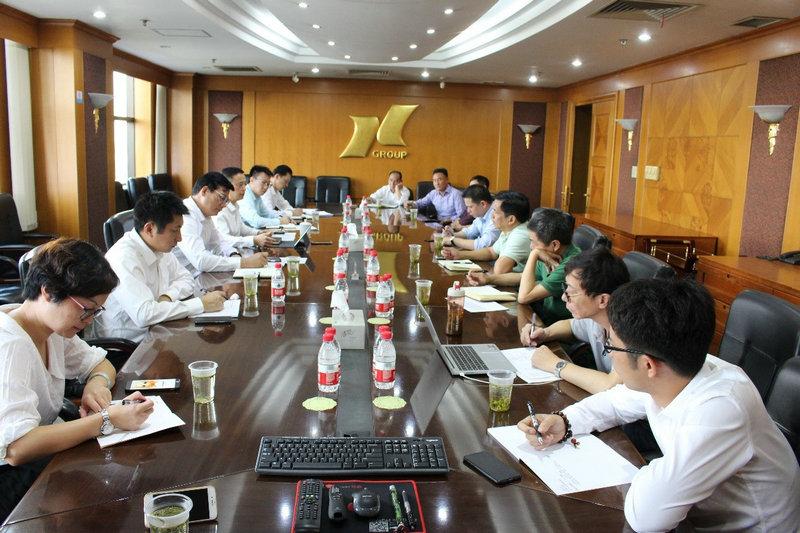 刻不容缓、抓好落实----bwinchina官网集团资产管理部召开洞泾园区安全生产专项环境整治动员会
