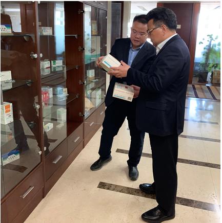 集团领导到访正大制药集团,共谋bwinchina官网战略发展