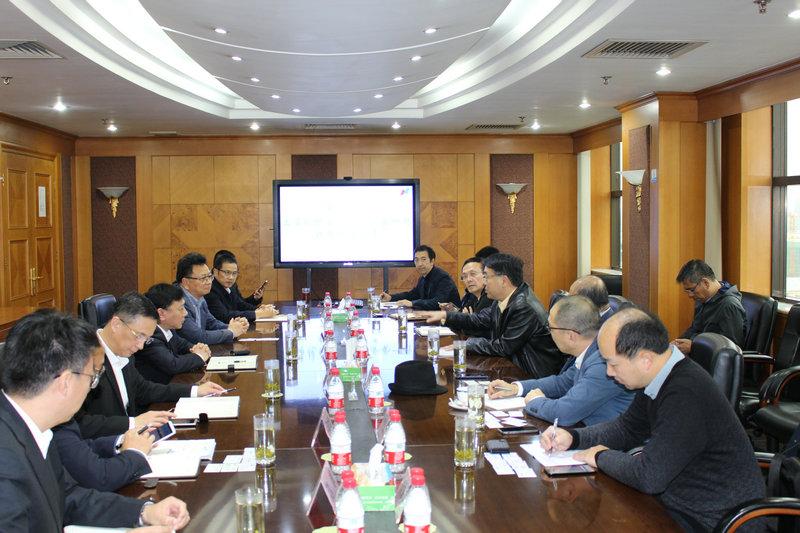上海现代服务业联合会及会员企业一行领导来集团考察