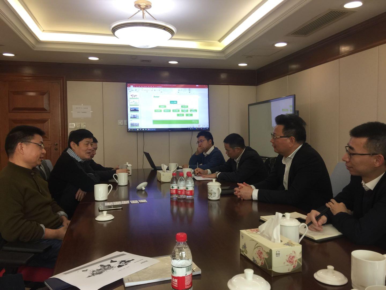 集团领导会见Aster集团高层 共同探讨打印机芯片发展