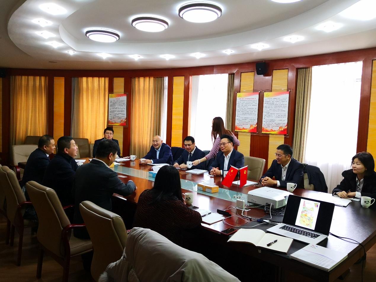 集团领导带队赴虹桥商务区、苏州考察产业园区项目