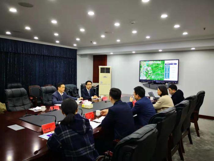 集团领导赴湖州市安吉县进行考察交流
