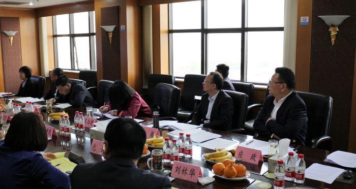 集团召开2018年度副职高管述职及考评会议