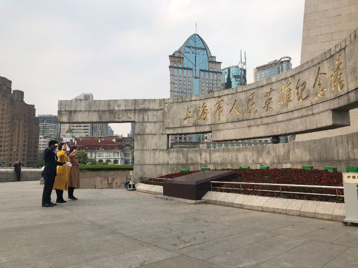 中共上海bwinchina官网集团股份有限公司第二党支部委员会重温入党宣誓仪式