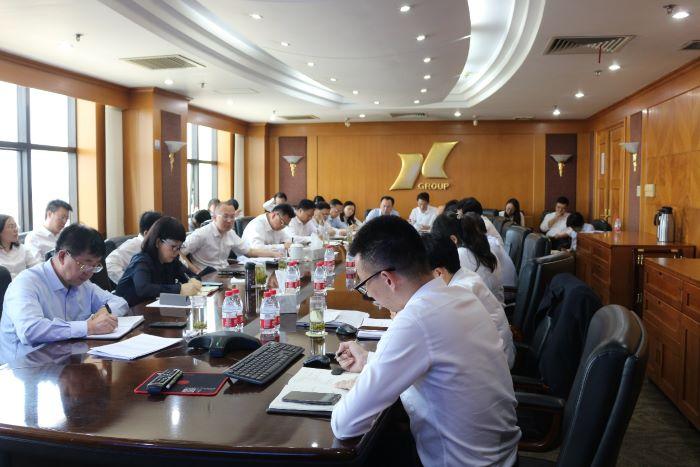 bwinchina官网集团召开八月份月度经营工作会议