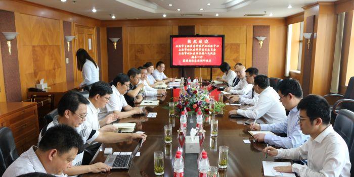 市生物医药科技产业促进中心主任莅临bwinchina官网调研