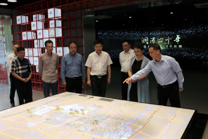 润谷东方及万达集团高管莅临bwinchina官网集团考察
